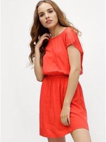 Červené šaty VERO MODA Malva