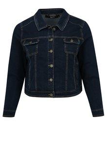 Tmavě modrá krátká džínová bunda simply be.