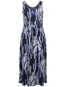 Rochie maxi albastra cu model simply be.