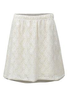 Krémová krajkovaná sukně Jacqueline de Yong Cart