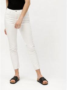 Bílé mom džíny s vysokým pasem MISSGUIDED