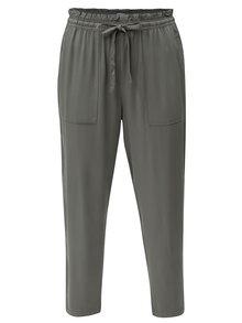 Zelené kalhoty Jacqueline de Yong Capella