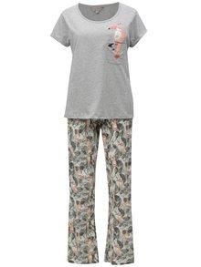 Šedé pyžamo s motivem tukana Dorothy Perkins