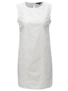 Biele čipkované šaty Dorothy Perkins
