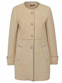 Béžový kabát v semišové úpravě ZOOT