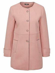 Ružový kabát v semišovej úprave ZOOT
