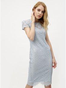 Světle modré krajkové šaty ZOOT