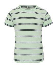 Modro-zelené klučičí pruhované tričko name it Villy