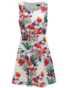 Červeno-bílé květované šaty Smashed Lemon