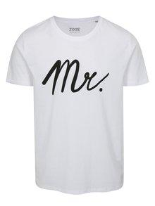 Bílé pánské tričko s potiskem ZOOT Mr white