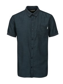 Tmavě modrá slim fit košile s náprsní kapsou Jack & Jones Glendale
