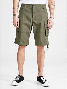Pantaloni scurti kaki cu croi comfort fit si buzunare Jack & Jones Chop