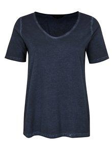 Tmavě modré tričko Ulla Popken