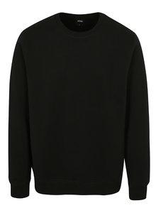 Černá mikina Burton Menswear London