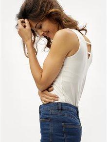 Krémové dámské tílko s pásky na zádech M&Co Sless
