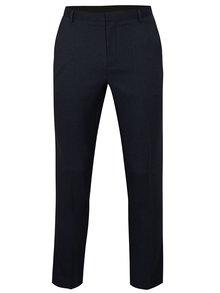 Pantaloni albastru inchis slim fit Burton Menswear London
