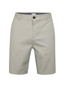 Pantaloni gri deschis scurti chino Burton Menswear London