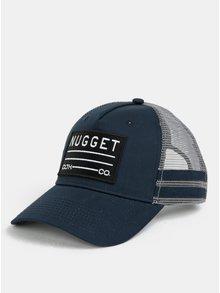 Tmavě modrá pánská kšiltovka NUGGET Slope