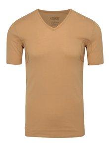 Tělové skinny tričko pod košili s potítky Covert Underwear