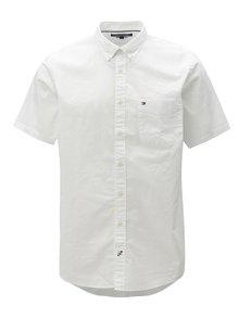 Bílá pánská košile s krátkým rukávem Tommy Hilfiger