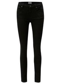 Černé skinny džíny Selected Femme Elena