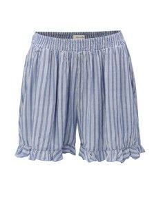 Pantaloni scurti albastri in dungi Blendshe Susi