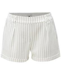 Pantaloni scurti alb-negru in dungi Blendshe Jade