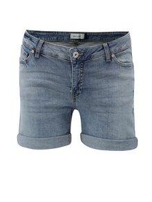 Pantaloni scurti albastru deschis din denim Blendshe Casual Gemini