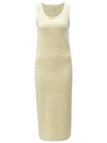 Žluté pruhované šaty Blendshe Jemima