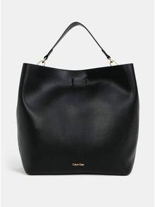 Čierna veľká kabelka Calvin Klein Jeans