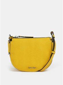 Žltá crossbody kabelka Calvin Klein Jeans