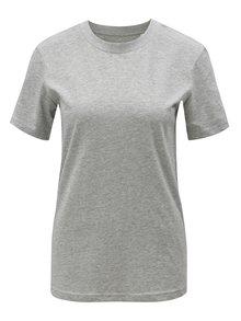 Sivé dámske melírované tričko Stanley & Stella Selects