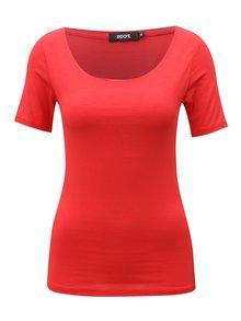 Červené tričko s krátkym rukávom  ZOOT