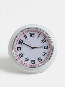 Bílé nástěnné hodiny Kaemingk