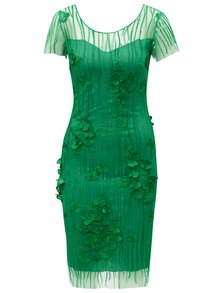 Zelené krajkové šaty Miss Grey Fathia