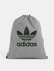 Sivý melírovaný vak s potlačou adidas Originals