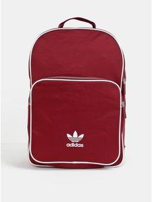Vínový batoh s potlačou adidas Originals