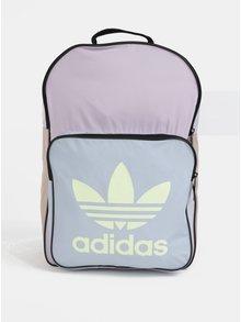 Modro-fialový batoh s potlačou adidas Originals