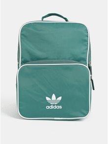 Zelený malý batoh s potlačou adidas Originals
