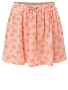 Růžovo-oranžová vzorovaná sukně se zavazováním 5.10.15.