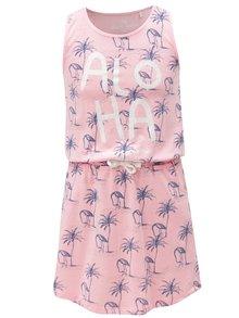 Růžové vzorované šaty s kapsami 5.10.15.