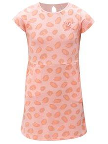 Oranžové vzorované šaty s kapsami 5.10.15.