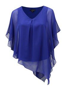 Bluza albastra asimetrica Billie & Blossom Curve