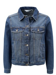 Jacheta albastra din denim Dorothy Perkins Petite