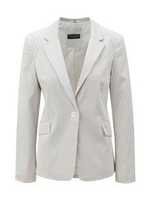Sivo-biele pruhované sako Dorothy Perkins