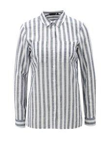 Bielo-modrá pruhovaná košeľa Dorothy Perkins