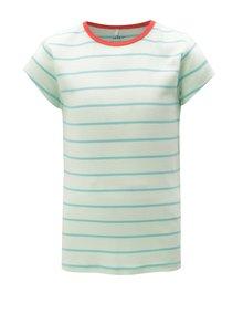 Zelené holčičí pruhované tričko name it Verit