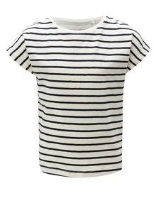 Modro-biele dievčenské pruhované tričko name it Vilske