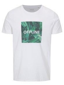 Tricou barbatesc alb ZOOT Original Offline