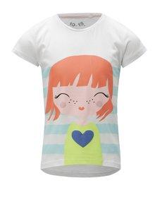 Modro-bílé vzorované holčičí tričko 5.10.15.